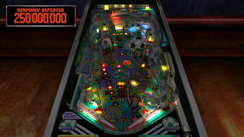 Pinball Arcade : World champion soccer Worldc10