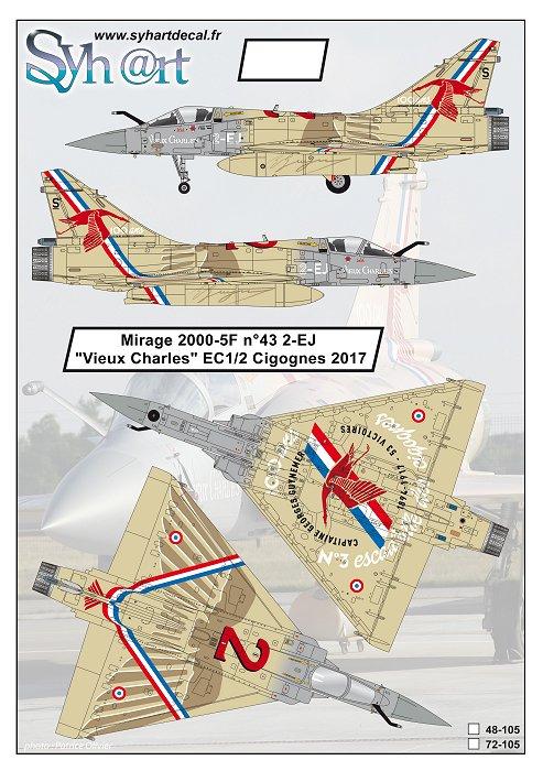 "Mirage 2000-N Ramex Delta  ""100 ans EC2/4 La Fayette"" (Heller) - Page 2 105_pl10"