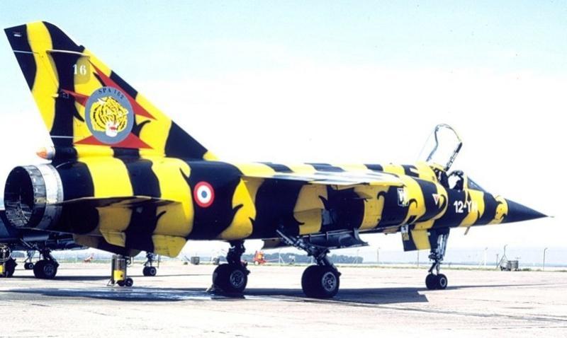 """Fil rouge 2018 Mirage F-1C 12-YH """"Cambresis"""" """"Tiger Meet 91""""  *** Terminé en pg 3 *** 162e10"""