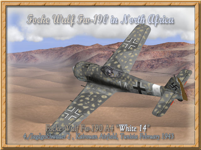 FW-190 A4 (ZVEZDA) Fw-19010
