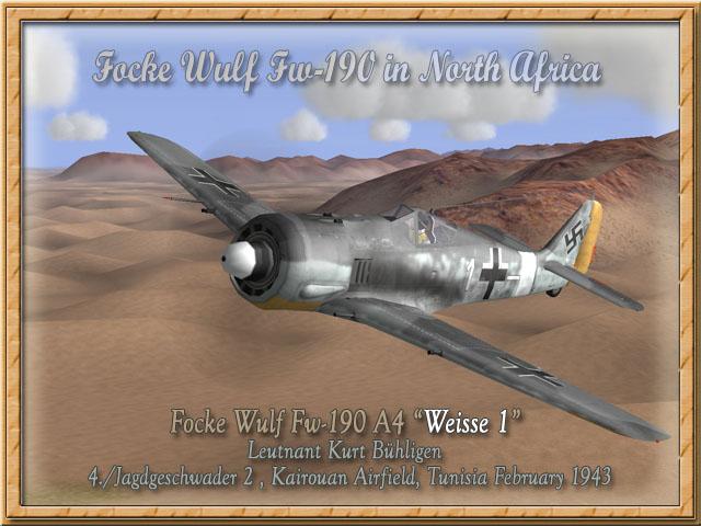FW-190 A4 (ZVEZDA) Fw-19011