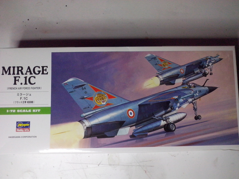 "Fil rouge 2018 Mirage F-1C 12-YH ""Cambresis"" ""Tiger Meet 91""  *** Terminé en pg 3 *** Img_2111"