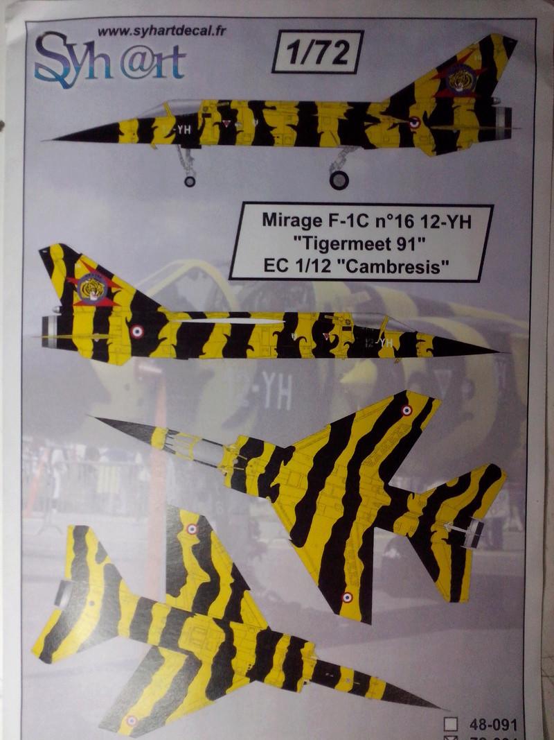 "Fil rouge 2018 Mirage F-1C 12-YH ""Cambresis"" ""Tiger Meet 91""  *** Terminé en pg 3 *** Img_2118"