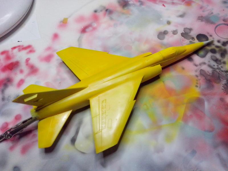 "Fil rouge 2018 Mirage F-1C 12-YH ""Cambresis"" ""Tiger Meet 91""  *** Terminé en pg 3 *** - Page 2 Img_2164"