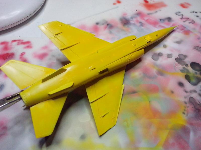 "Fil rouge 2018 Mirage F-1C 12-YH ""Cambresis"" ""Tiger Meet 91""  *** Terminé en pg 3 *** - Page 2 Img_2165"