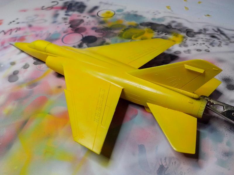 "Fil rouge 2018 Mirage F-1C 12-YH ""Cambresis"" ""Tiger Meet 91""  *** Terminé en pg 3 *** - Page 2 Img_2166"