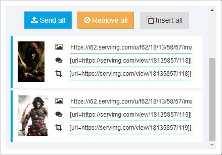 Cómo subir y compartir imágenes + [Información útil y trucos] Upload12