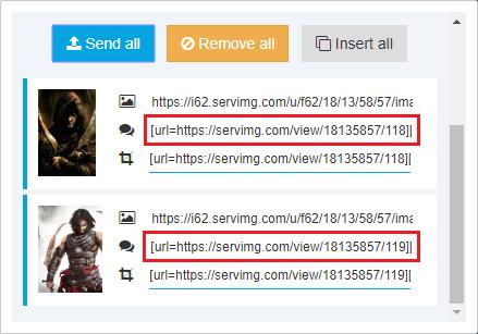 Cómo subir y compartir imágenes + [Información útil y trucos] Upload13