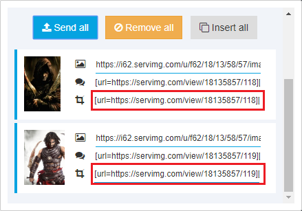 Cómo subir y compartir imágenes + [Información útil y trucos] Upload14