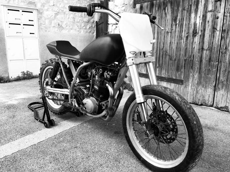 Mes pétoires KTM flat + Ducati café  8c139410