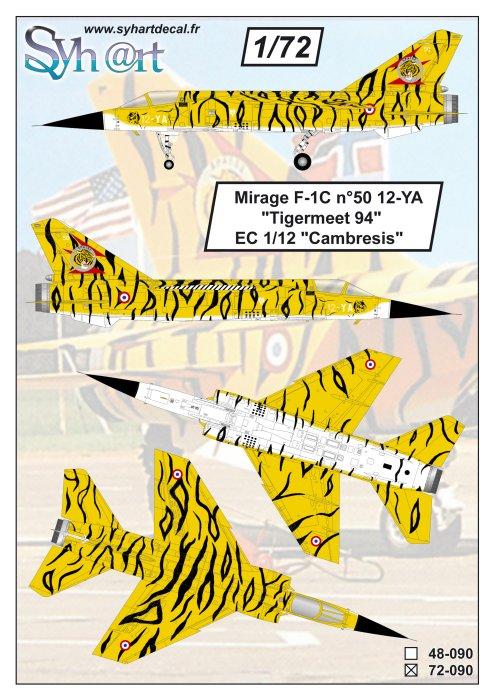 """Fil rouge 2018 Mirage F-1C 12-YH """"Cambresis"""" """"Tiger Meet 91""""  *** Terminé en pg 3 *** 090_pl10"""