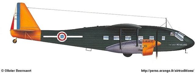 AZ Models Potez 540 Transport 1/72 120_110