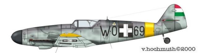 [Revell] (1-48) Messerschmitt Bf 109 G-10: rénovation 13_910