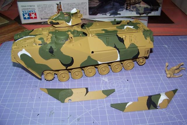 "AAVP7A1 Tamiya 1/35 ( operation "" Urgent Fury "" 25/10/83) 1675510"