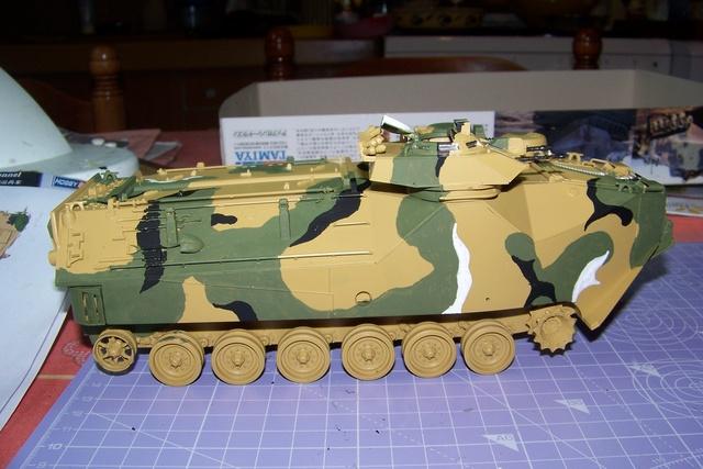 "AAVP7A1 Tamiya 1/35 ( operation "" Urgent Fury "" 25/10/83) 1679010"