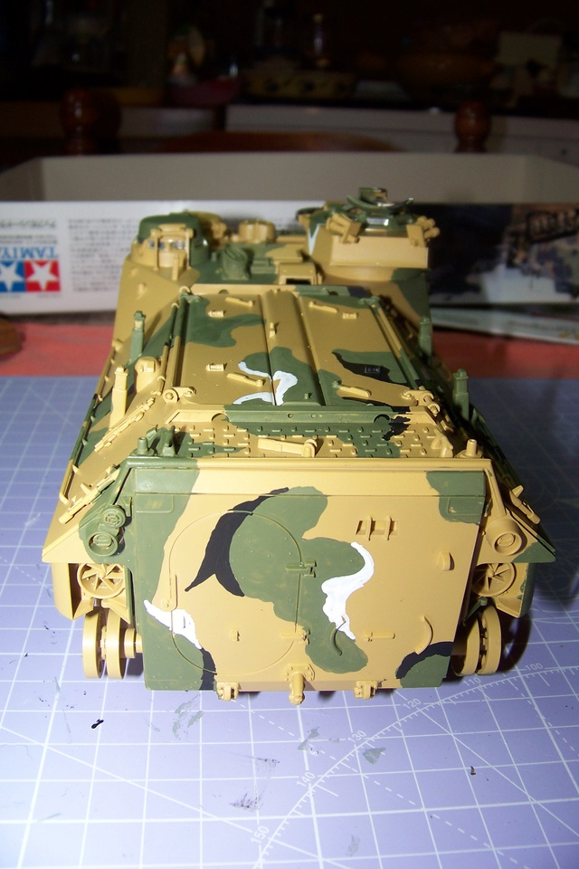 "AAVP7A1 Tamiya 1/35 ( operation "" Urgent Fury "" 25/10/83) 1680010"
