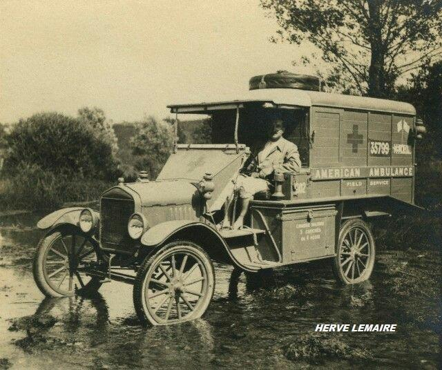 Ford T Ambulance 1917 ICM 1/35 ( FINI & Rectifié) - Page 2 17-1-710