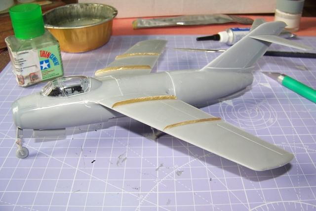 Guerre Froide 1/48 Lavochkine La-15 Fantail( Mars Models) - Page 3 1720510