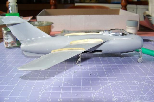 Guerre Froide 1/48 Lavochkine La-15 Fantail( Mars Models) - Page 3 1723010