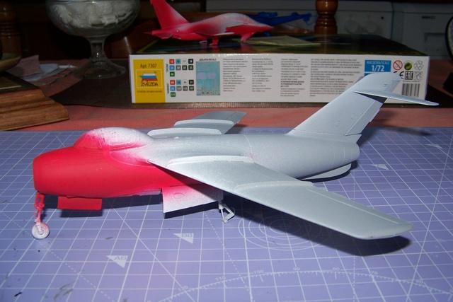 Guerre Froide 1/48 Lavochkine La-15 Fantail( Mars Models) - Page 3 1730510