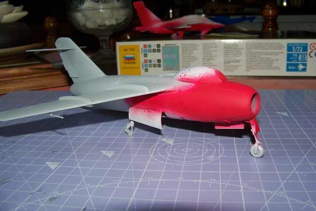 Guerre Froide 1/48 Lavochkine La-15 Fantail( Mars Models) - Page 3 1732010