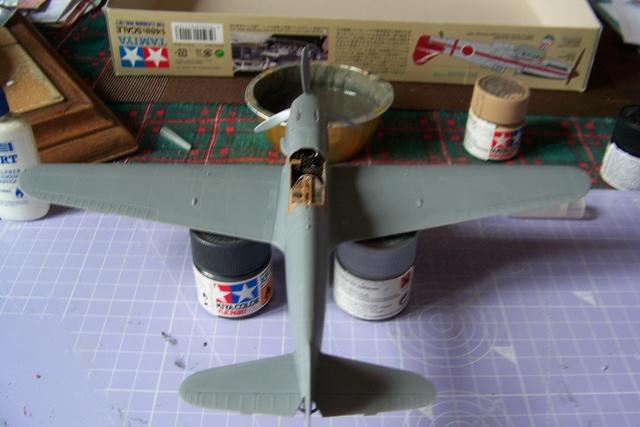 "Kawasaki Ki 61 Tei "" Hien"" ou Tony 1/48 (Fini ) 2463510"