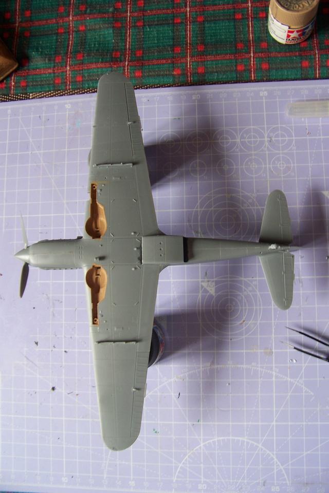 "Kawasaki Ki 61 Tei "" Hien"" ou Tony 1/48 (Fini ) 2465510"