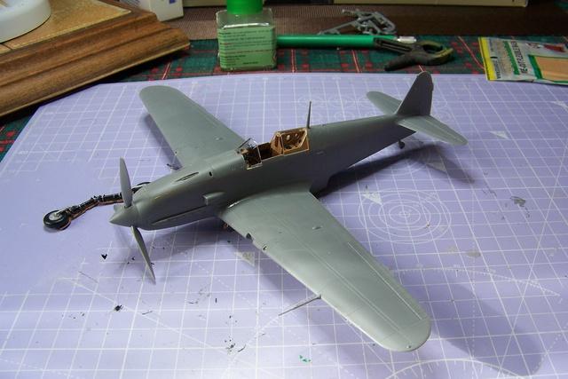"Kawasaki Ki 61 Tei "" Hien"" ou Tony 1/48 (Fini ) 2473510"