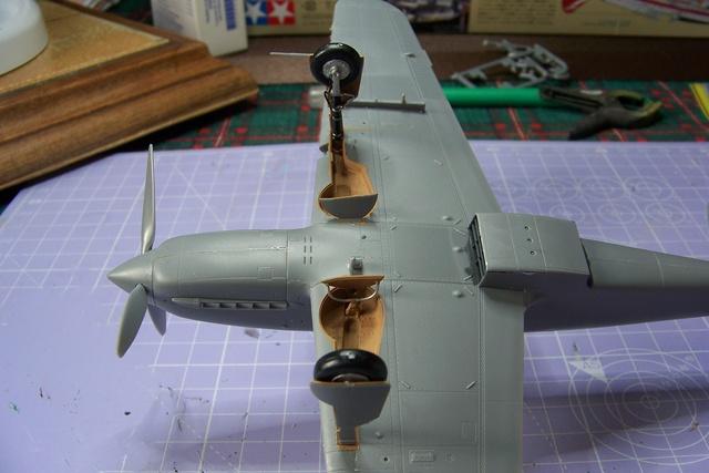 "Kawasaki Ki 61 Tei "" Hien"" ou Tony 1/48 (Fini ) 2474510"