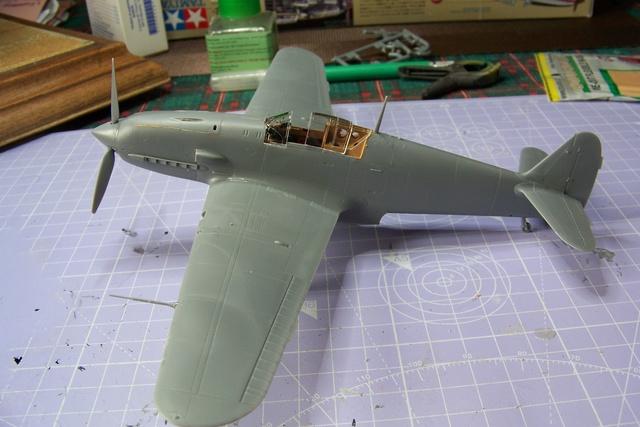 "Kawasaki Ki 61 Tei "" Hien"" ou Tony 1/48 (Fini ) 2475510"