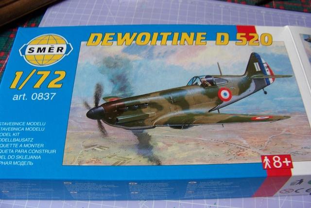 ( Smer ) Dewoitine D-520 1AC juillet 1940 1/72 *** Terminé en pg 1 *** 2479310