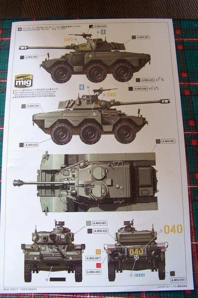 ouvre Boite ERC 90 F1 Lynx 2508210
