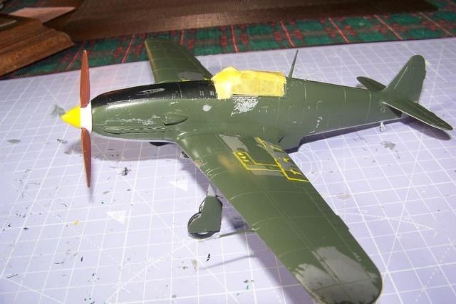 "Kawasaki Ki 61 Tei "" Hien"" ou Tony 1/48 (Fini ) - Page 2 2554010"
