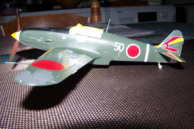 "Kawasaki Ki 61 Tei "" Hien"" ou Tony 1/48 (Fini ) - Page 2 2559610"