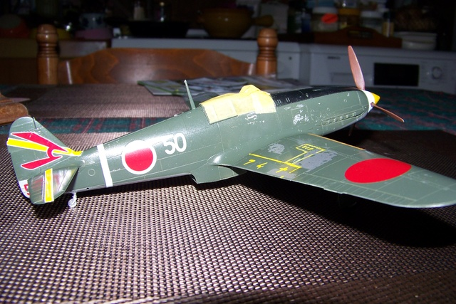 "Kawasaki Ki 61 Tei "" Hien"" ou Tony 1/48 (Fini ) - Page 2 2560610"