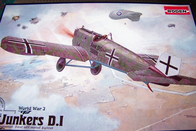 Junkers D1 ( J9 II ) Fuselage long 1/48 Roden( Fini) 2618510