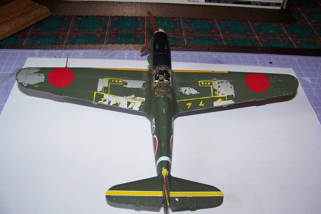 "Kawasaki Ki 61 Tei "" Hien"" ou Tony 1/48 (Fini ) - Page 2 2634010"
