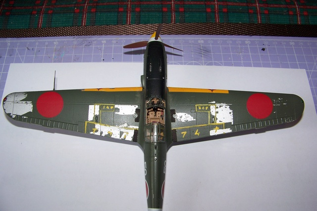 "Kawasaki Ki 61 Tei "" Hien"" ou Tony 1/48 (Fini ) - Page 2 2637010"