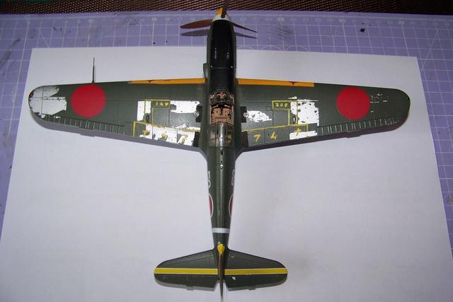 "Kawasaki Ki 61 Tei "" Hien"" ou Tony 1/48 (Fini ) - Page 2 2638010"