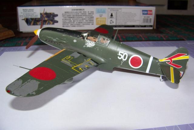 "Kawasaki Ki 61 Tei "" Hien"" ou Tony 1/48 (Fini ) - Page 2 2639010"