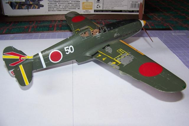 "Kawasaki Ki 61 Tei "" Hien"" ou Tony 1/48 (Fini ) - Page 2 2640010"