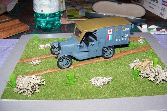 Ford T Ambulance 1917 ICM 1/35 ( FINI & Rectifié) - Page 2 2682010