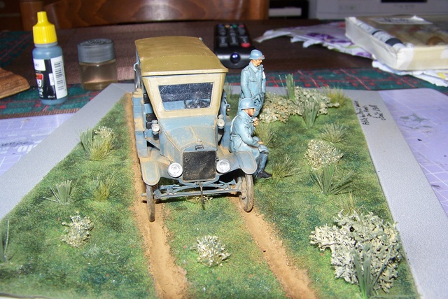 Ford T Ambulance 1917 ICM 1/35 ( FINI & Rectifié) - Page 3 2845010