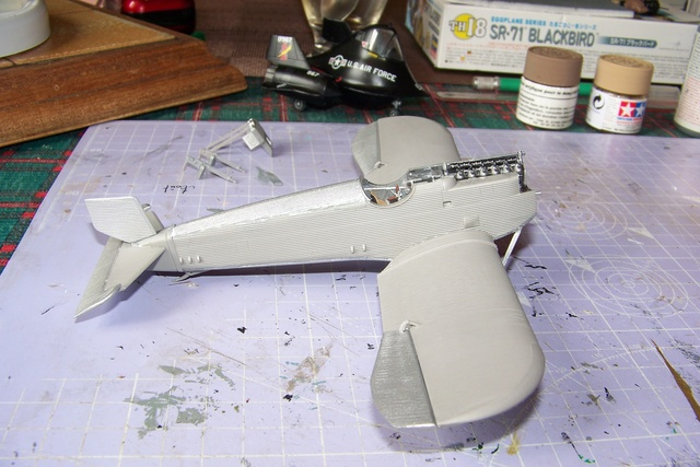 Junkers D1 ( J9 II ) Fuselage long 1/48 Roden( Fini) 2851010