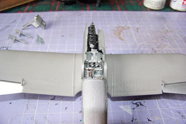 Junkers D1 ( J9 II ) Fuselage long 1/48 Roden( Fini) 2852210