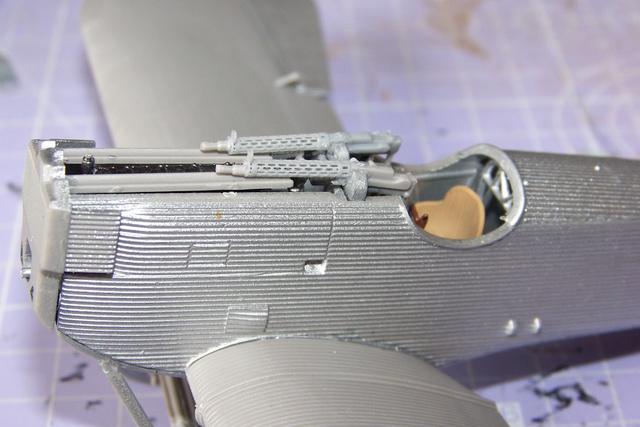 Junkers D1 ( J9 II ) Fuselage long 1/48 Roden( Fini) 2860210