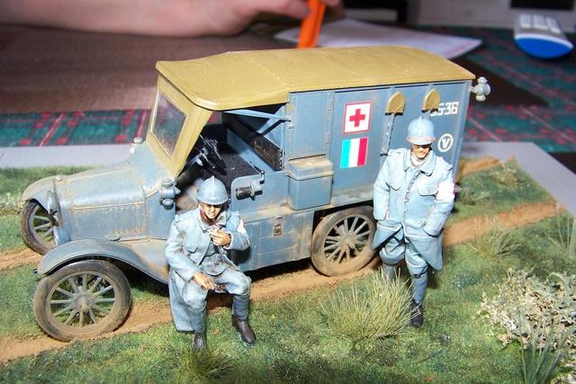 Ford T Ambulance 1917 ICM 1/35 ( FINI & Rectifié) - Page 3 2884510