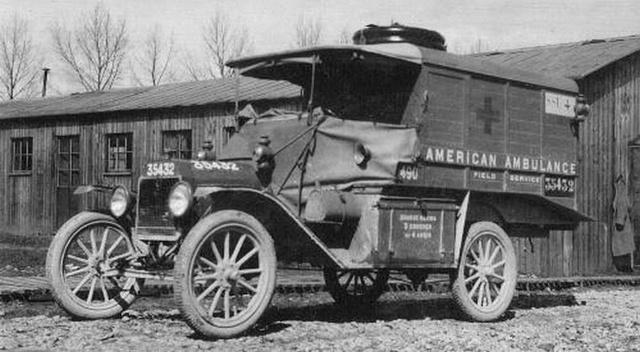 Ford T Ambulance 1917 ICM 1/35 ( FINI & Rectifié) - Page 2 35718410