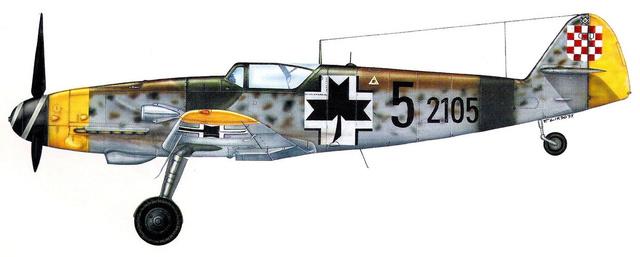 [Revell] (1-48) Messerschmitt Bf 109 G-10: rénovation 39_310