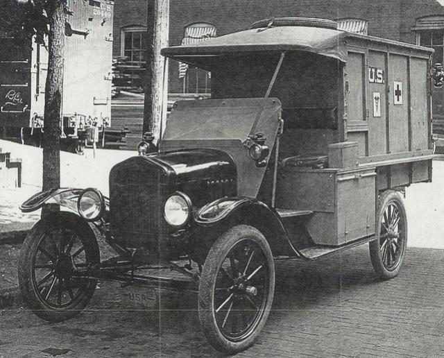 Ford T Ambulance 1917 ICM 1/35 ( FINI & Rectifié) - Page 2 5527a710
